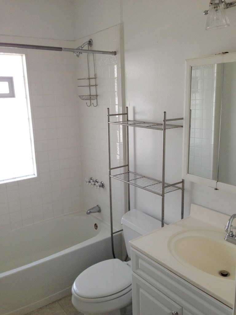 Before Look at the Bathroom at 874 West