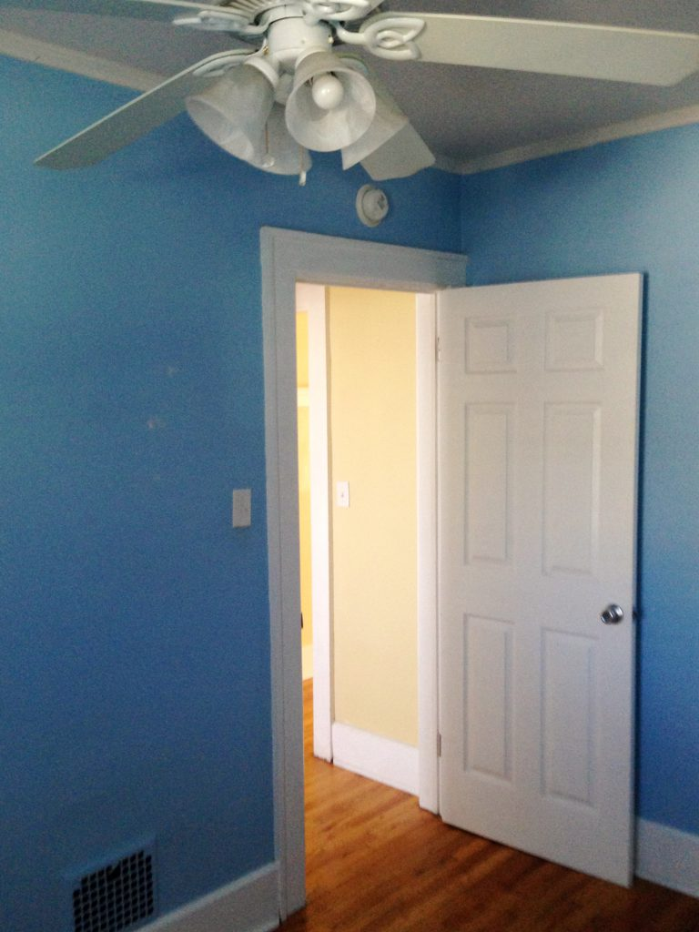 Before Look at the Extra Bedroom at 874 West