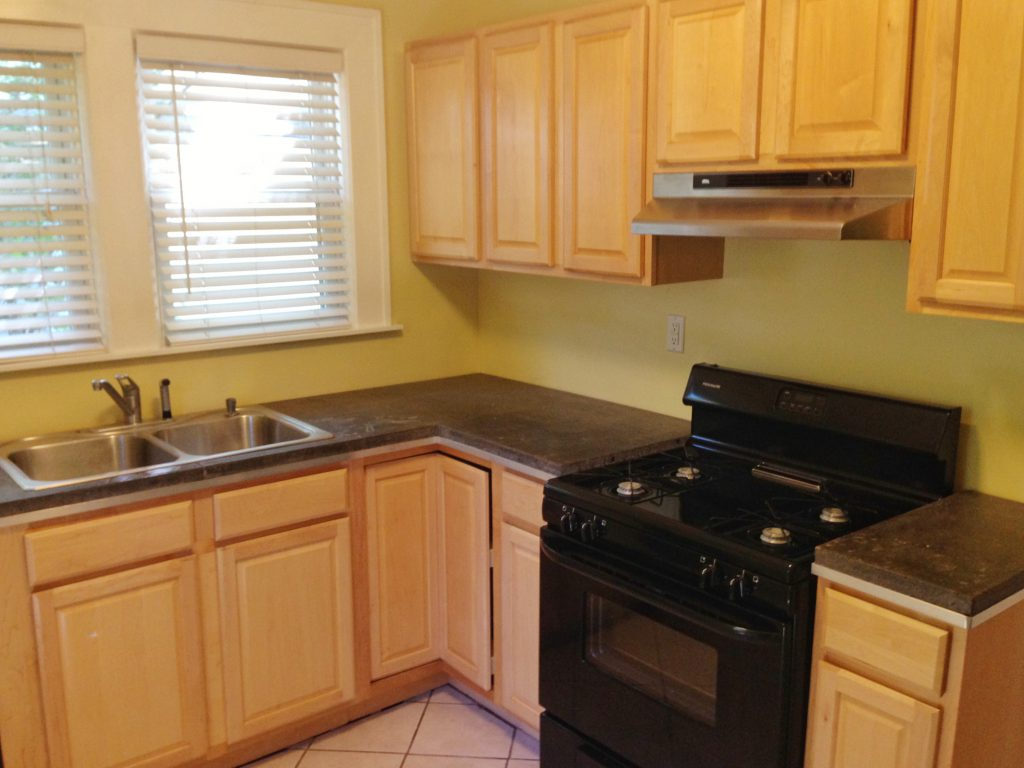 Before Look at the Kitchen at 874 West