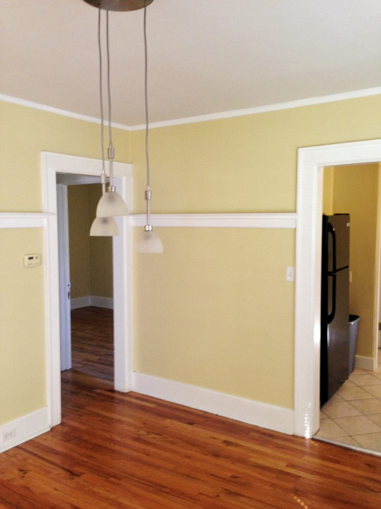 Before Look at the Dining Room at 874 West
