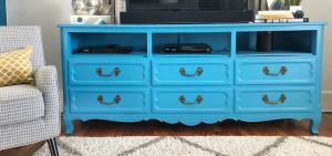 Turning a Dresser into a TV Stand